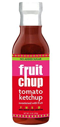 Fruitchup Paleo Ketchup, Whole30, Gluten Free, No Added ...