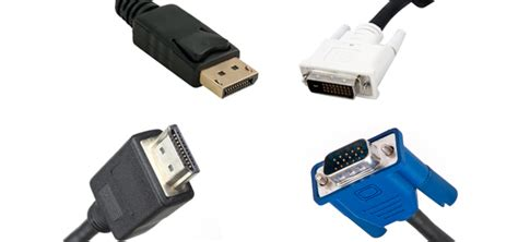 hdmi vs displayport vs dvi vs vga