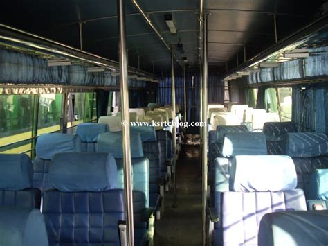 KSRTC IMAGE DATABASE: Inside of Super Deluxe Air Bus