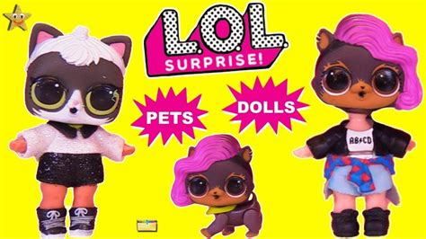 lol surprise pets dolls wrong heads game transforming