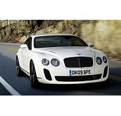 Super Cars Bentley Continental Supersports