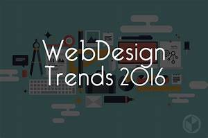 The Most Prominent Web Design Trends for 2016