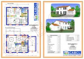 Plan Maison Etage 3 Chambres by Plan Maison Etage Mc Immo