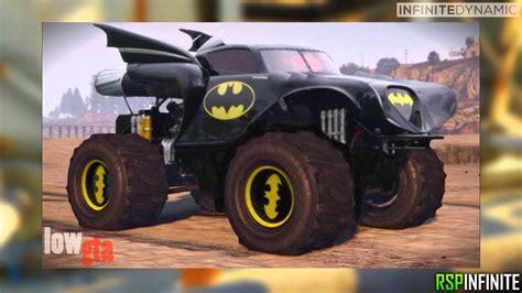 batman monster truck videos gta 5 batman monster truck batman truck concept image