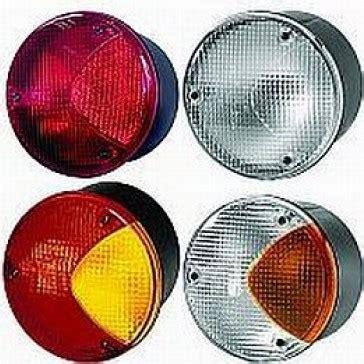 hella  series mm  sae rear signal lamp rally