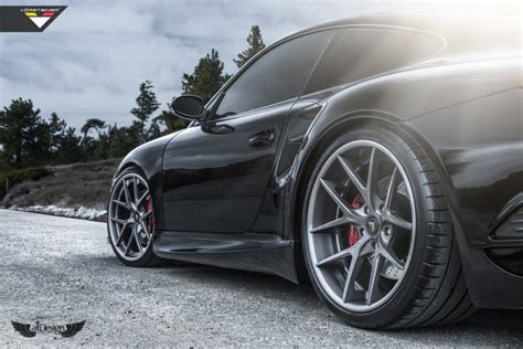 Porsche 911 Turbo (997) + Vorsteiner Vrt Body Kit