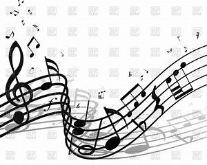 Classic background with musical notes Vector Image #83335 ...