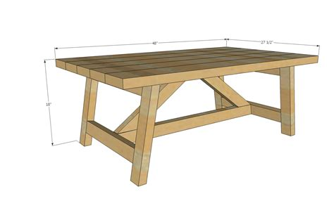 woodworking plans coffee table wooden sheds