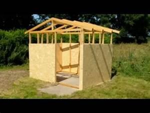 holzhutte selber bauen mit meineholzhuttede youtube With garten planen mit balkon anbauen dachgeschoss kosten