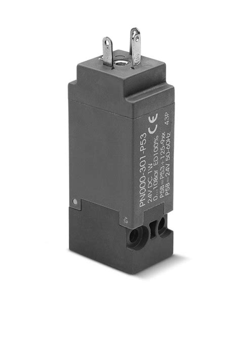 Series PN Directly Operated Mini-Solenoid Valves - Camozzi