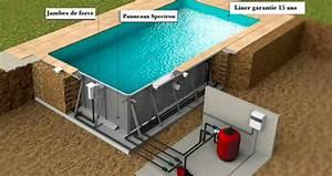 Piscine En Kit Enterrée : accueil univers kits piscines votre kit piscine en ligne ~ Melissatoandfro.com Idées de Décoration