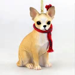 chihuahua ornament scarf figurine ebay