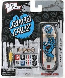 tech deck santa cruz fingerboard a single pack tech deck
