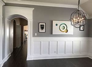 Remodel A Kitchen On A Budget Upgraded Trim With Columns Arches Wainscoting