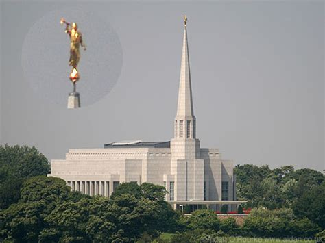 Eyewitness in Manchester: Mormon Temple Chorley Lancashire