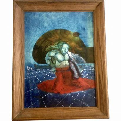 Surreal Painting Oil Weird Board Surrealist Painter