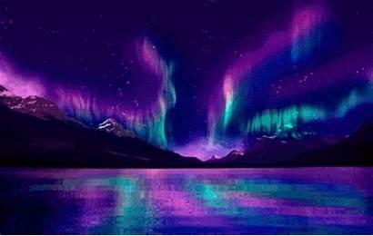 Pretty Gifs Lights Smoke Colorful Northern Drugs