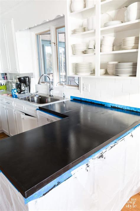paint countertops to look like giani countertop paint to look like carrara 2 x xmarble 9