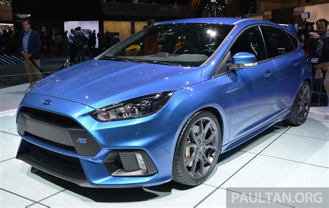 2016 Ford Focus Rs Specs Confirmed