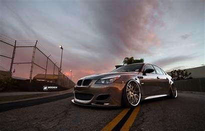 Bmw E60 M5 Tuning Stance E61 Low