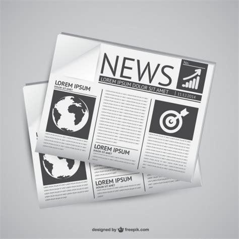 newspaper vectors   psd files
