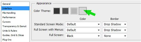 photoshop cs6 settings tips