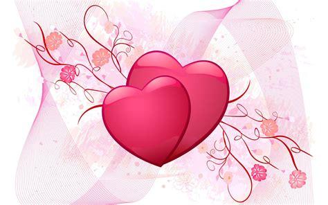 colorful hearts symbol  valentine card