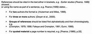 harvard style referencing template - citing how to use harvard authoryear style to format