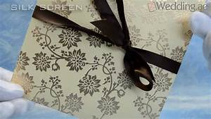 Dubai wedding cards printing uae youtube for Wedding invitation printing in dubai