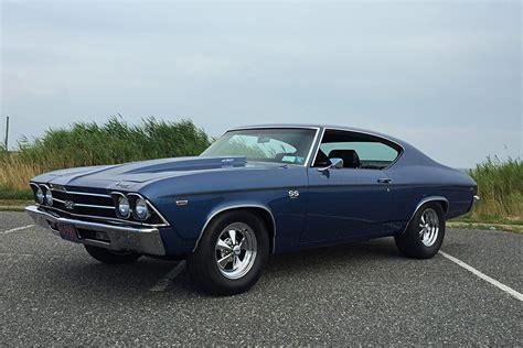 Turning An Street Raced 1969 Chevrolet