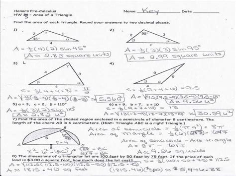 of sines word problems worksheet the best and most