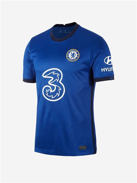 Chelsea Home Jersey 20 21 Season Premium Football Jersey ...