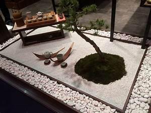 Jardin Japonais Interieur : jardin japonais miniature s duisant mini jardin japonais d interieur id es d coration int rieure ~ Dallasstarsshop.com Idées de Décoration