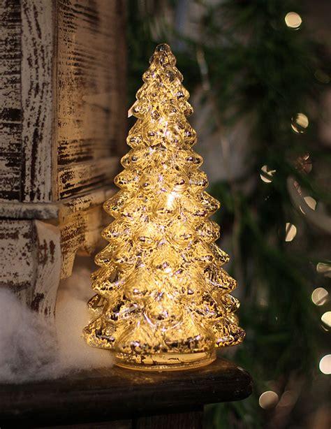 mercury glass christmas trees images