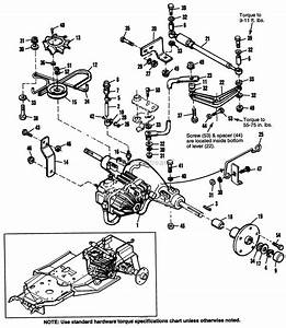 Simplicity 1692580 - 2718h  18hp Hydro Parts Diagram For Transmission  U0026 Pump