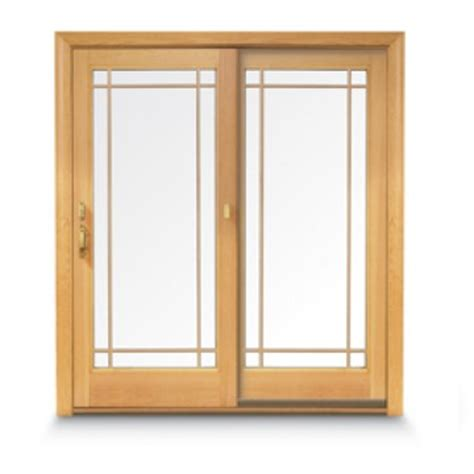 model 16 andersen frenchwood gliding patio door