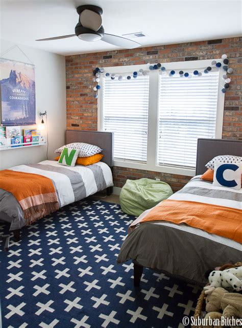 A Shared Boys Bedroom