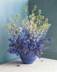 Blue and Purple Flower Arrangements