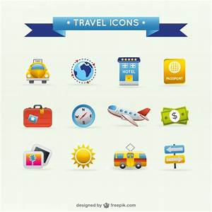 Travel icons Vector | Free Download