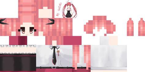 скины на майнкрафт аниме девушки #4