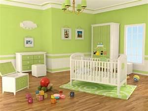 Wandfarbe Für Kinderzimmer : 100 ideen f r wandgestaltung in gr n ~ Lizthompson.info Haus und Dekorationen