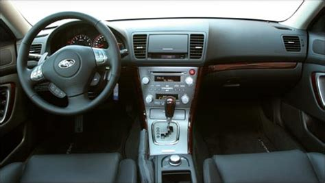 2008 subaru legacy interior car reviews from industry experts auto123