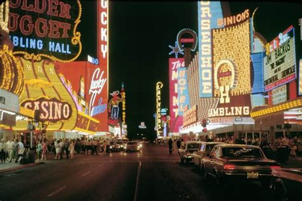 #Las #Vegas'S #Fremont #Street #In #The #Late #1960S