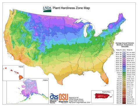 2012 Usda Plant Hardiness Zone Map  Growing The Home Garden