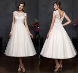 popular mid length wedding dresses buy cheap mid length wedding dresses lots from china mid - Mid Length Dress For Wedding