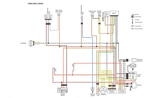 Suzukisavage Simplified Chopper Wiring Diagram