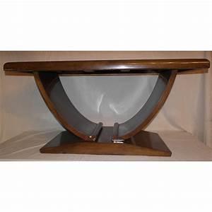 Table Basse Miroir : table basse art d co dessus miroir fum sur moinat sa ~ Melissatoandfro.com Idées de Décoration