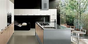 cuisine avec ilot central plaque de cuisson maison With cuisine ilot central cuisson