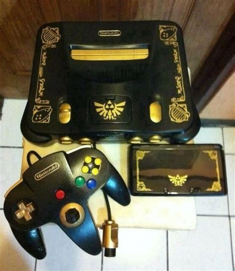 Tinycartridge Matching Limited Edition Zelda 3ds And N64