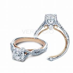 verragio engagement rings 025ctw diamond setting With wedding rings by verragio
